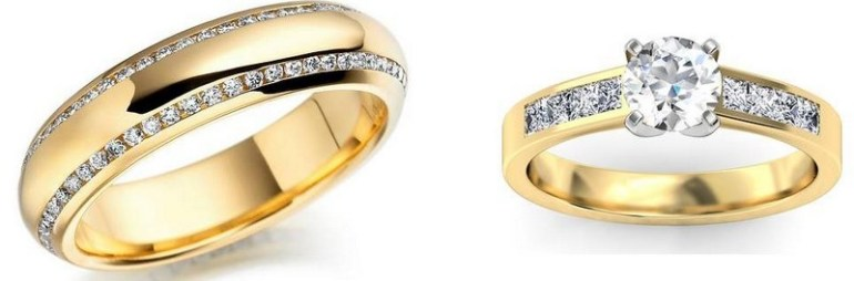 Beautiful Gold Rings For Women