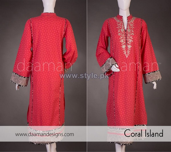 Daaman Spring Dresses 2014 For Girls 2