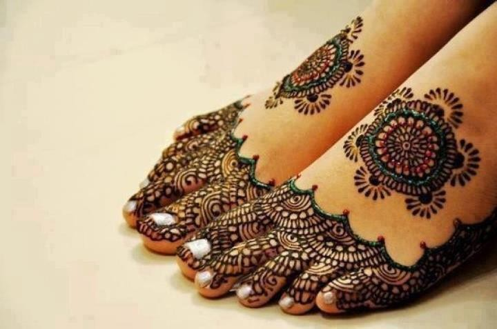 Foot Mehndi Designs for Women