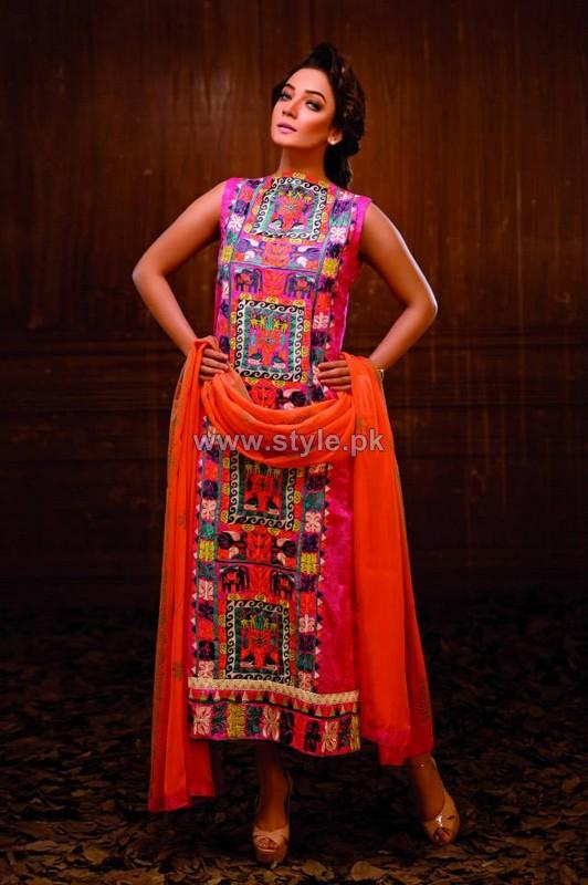 Hadiqa Kiani Spring Summer Dresses 2014 For Women 4