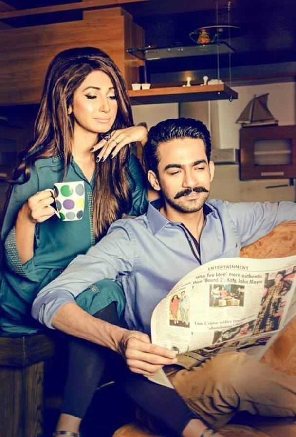 Hira Tareen And Ali Safina New Photo shoot For XPOZE pic 06