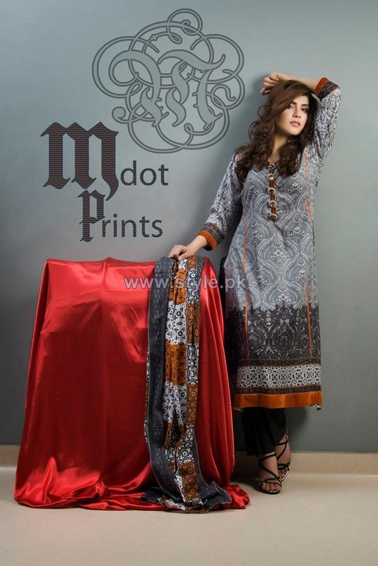 Mallal Designer Lawn Dresses 2014 For Summer 8