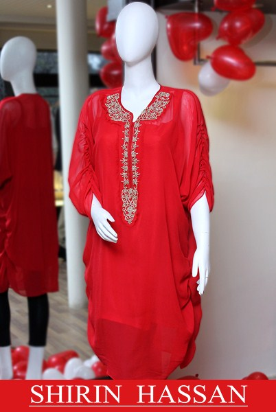 Shirin Hassan Valentines Day Dresses 2014 For Women 002