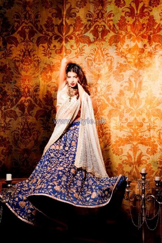 Zara Shahjahan Bridal Wear Dresses 2014 For Girls 4