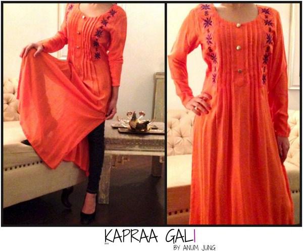 Kapraa Gali By Anum Jung Spring Dresses 2014 For Women004