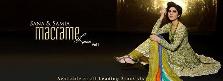 Lala Sana and Samia Macrame Lace 2014 for Women
