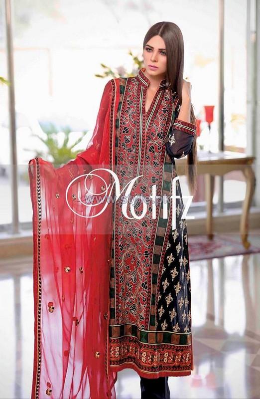 Motifz Lawn Dresses 2014 For Women 1