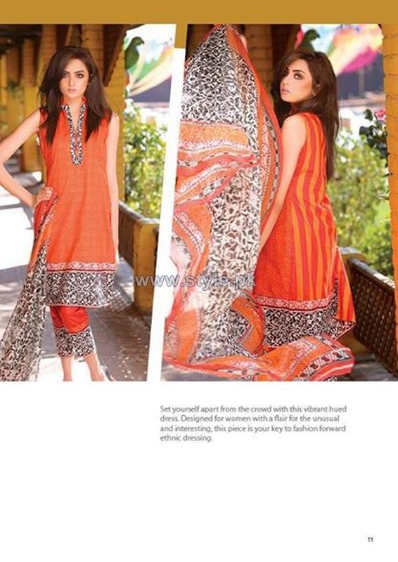 Phulkari Summer Dresses 2014 by Taana Baana 6