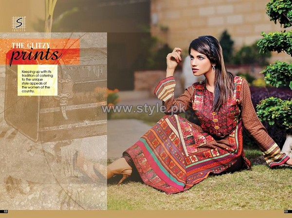 Shaista Cloth Lawn Dresses 2014 For Summer 1
