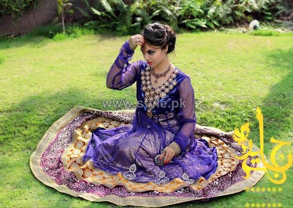 Jannat Nazir Formal and Bridal Dresses 2014 For Summer 5