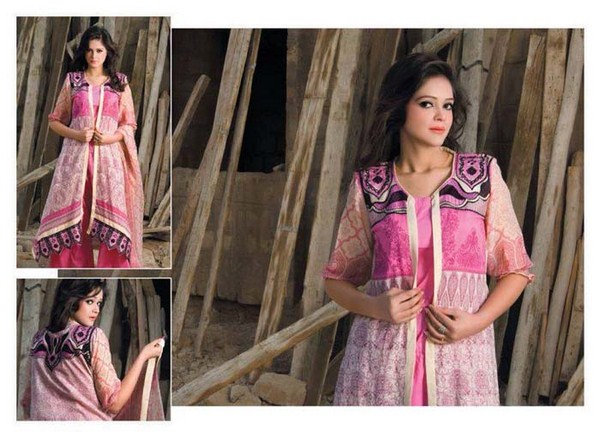 Pardesi Textile Umaimahs Embroidered Lawn Dresses 2014 For Women 001