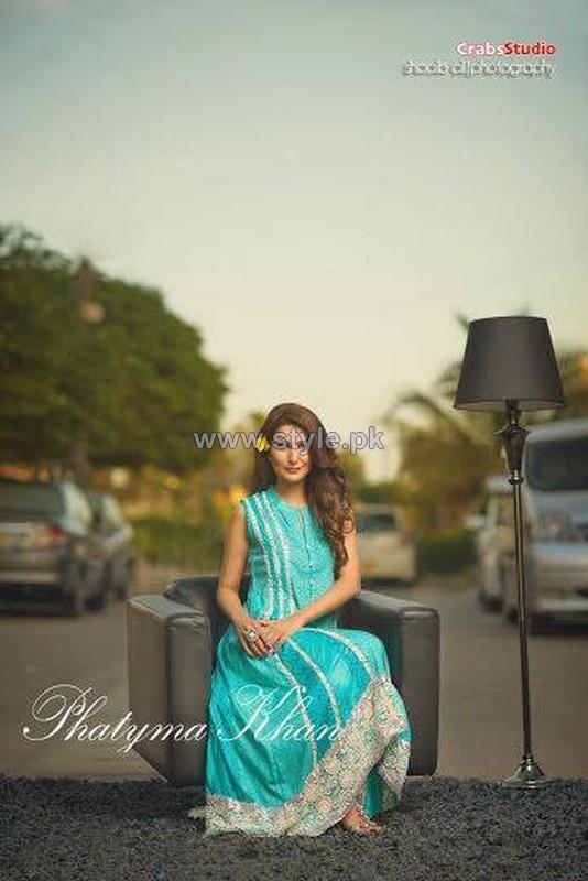 Phatyma Khan Summer Dresses 2014 For Women 4
