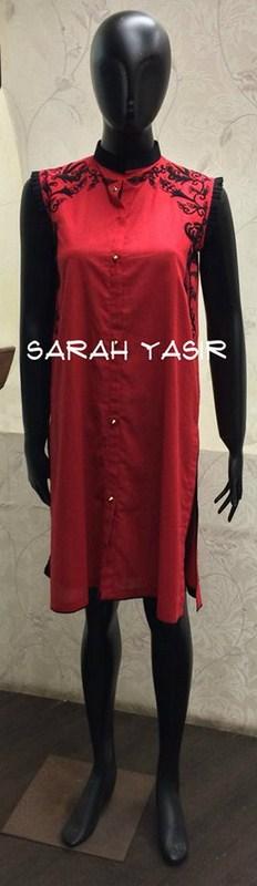 Sarah Yasir Summer Dresses 2014 For Women 001