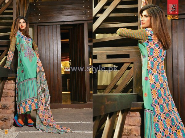 Shaista Cloth Lawn Dresses 2014 For Women 7