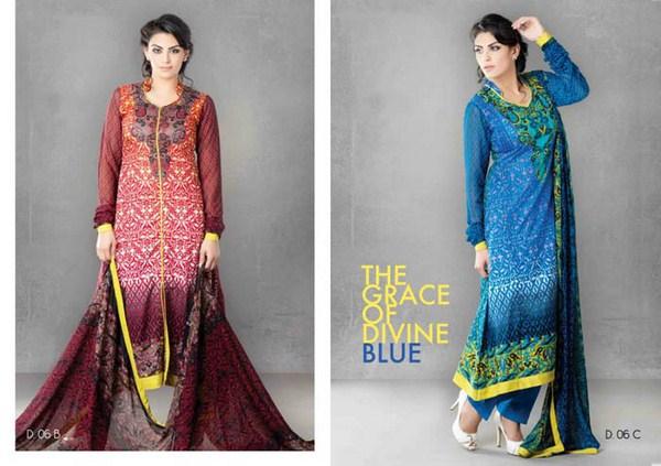 Sitara Textiles Jhilmil Lawn Dresses 2014 For Women 003