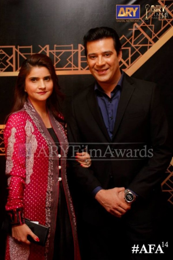 ARY Film Awards Red Carpet Pictures. pic 04