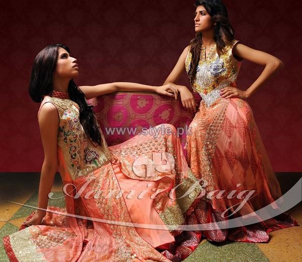 Aamir Baig Formal Dresses 2014 For Summer 4