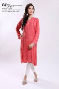 Flairs by Naureen Fayyaz Summer Dresses 2014 for Women011