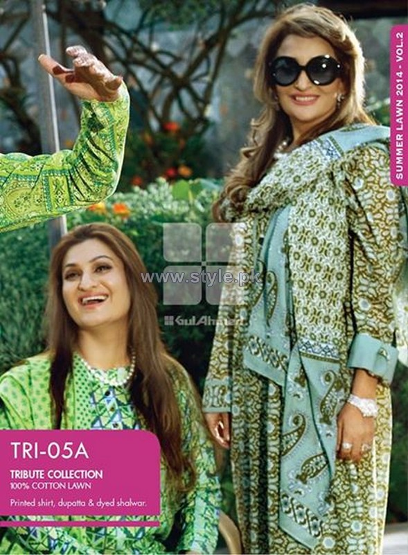 Gul Ahmed Tribute Collection 2014 For Mother's Day 5