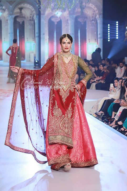 Zaheer Abbas Collection At Pantene Bridal Couture Week 2014 0019