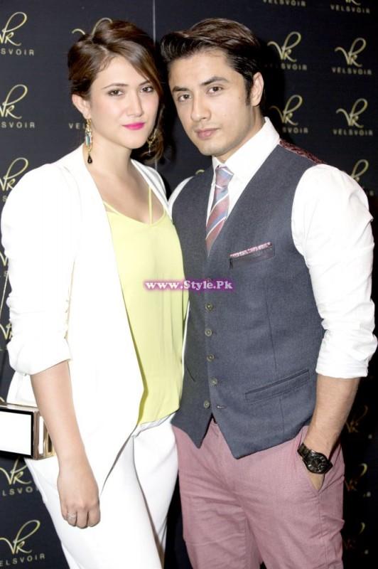 Ali Zafar With Wife Ayesha Fazli