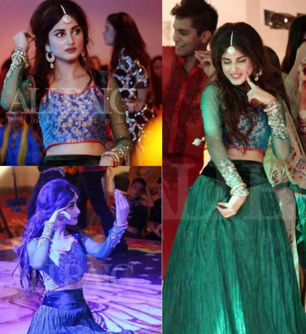 Dua Malik Mehndi And Wedding Pictures 07