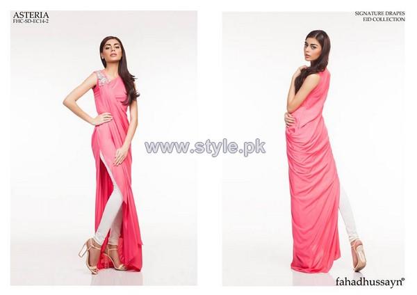 Fahad Hussayn Eid-Ul-Fitr Dresses 2014 For Women 4