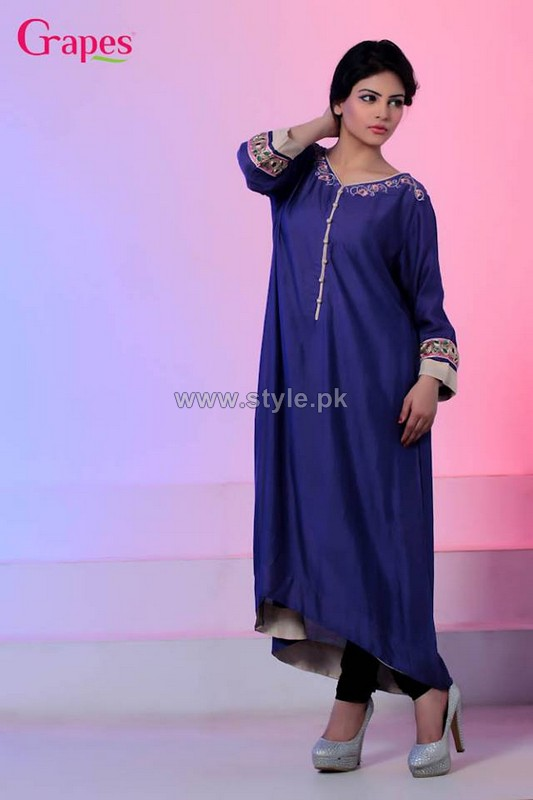 Grapes The Brand Eid Dresses 2014 For Girls 3
