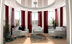 Home Office Designs With Red Accents 006