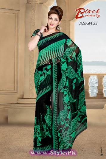 Saree Colors For Girls Summer 2014  (22)