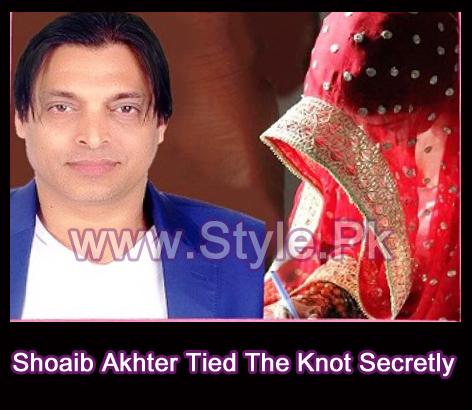 Shoaib Akhter Tied The Knot Secretly Pic
