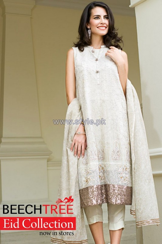 Beech Tree Eid Dresses 2014 For Girls 2