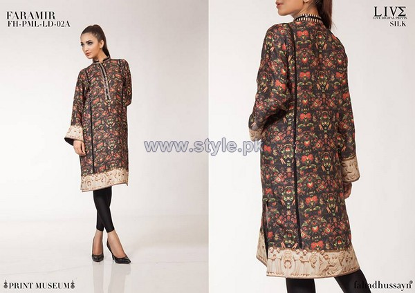 Fahad Hussayn Digital Print Dresses 2014 For Girls 4