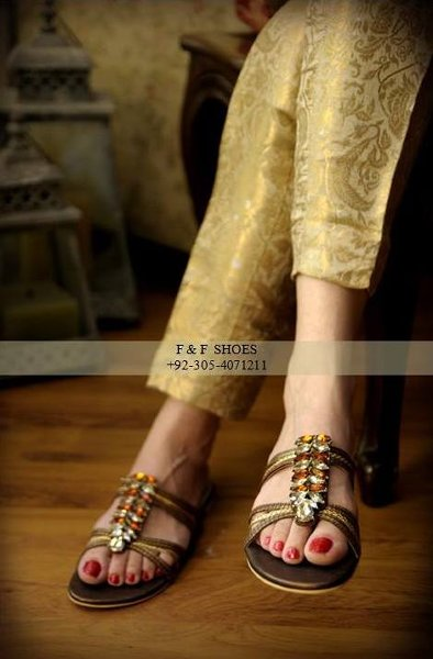 Farah & Fatima Eid Footwear Collection 2014 For Women 007