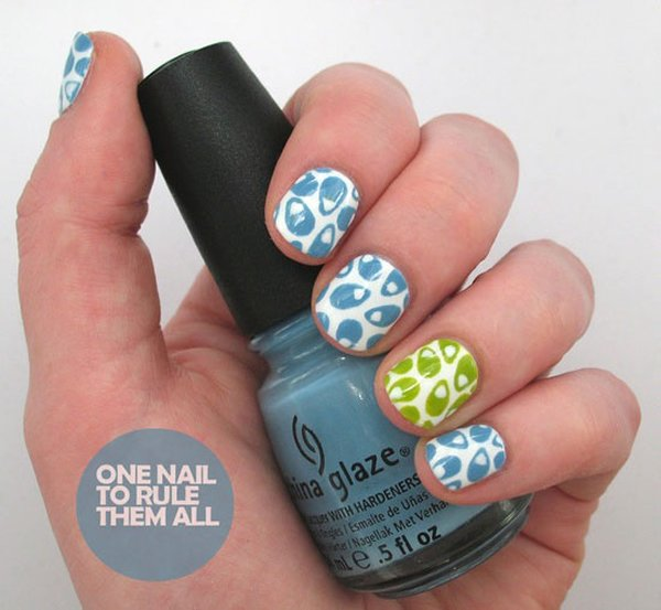 Happy Birthday Nail Art Ideas 2014 For Girls 0011