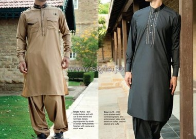 Junaid Jamshed Eid Clothes 2014 For Boys 1