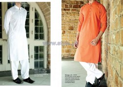 Junaid Jamshed Eid Clothes 2014 For Men 7