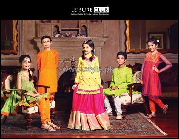 Leisure Club Kids Dresses 2014 For Eid 6