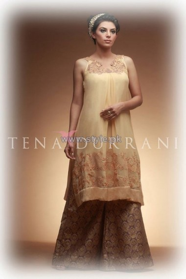 Tena Durrani Eid Dresses 2014 For Girls 2