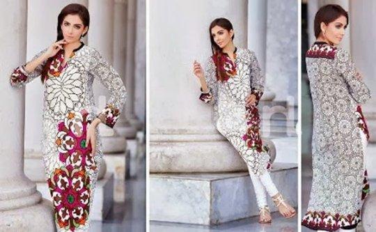 Trends Of Designer Lawn Dresses In Summer 0014