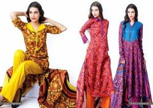 Trends Of Designer Lawn Dresses In Summer 003