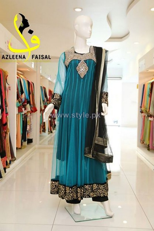 Azleena Faisal Semi-Formal Dresses 2014 For Girls 5