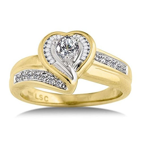 Designs Of Gold Engagement Rings 2014 For Women 00 7