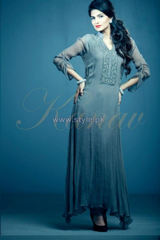 Kanav Party Dresses 2014 For Women 3