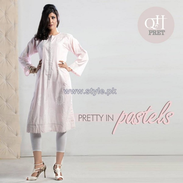 QnH Ready To Wear Dresses 2014 For Girls 3