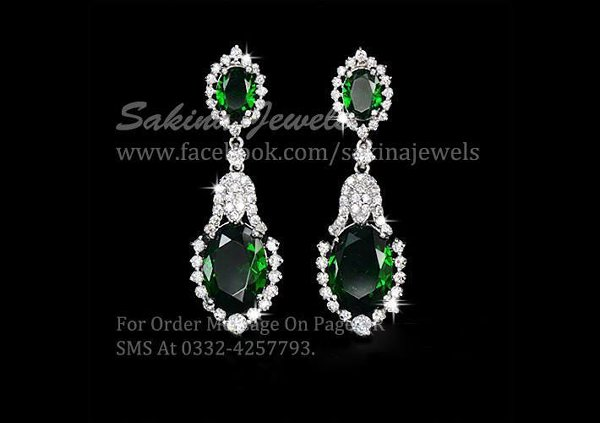 Sakina Jewelery New Collection 2014 For Women 009