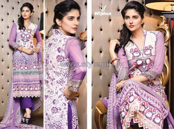 Salam Textile Wijdaan Collection 2014 For Mid Summer 6