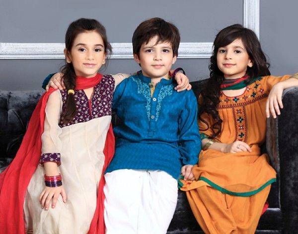 Trends Of Western And Eastern Kids Wear 005