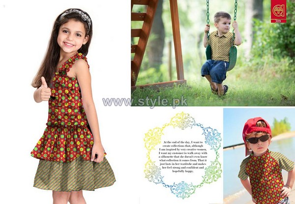 Al-Hamra Textiles Kids Dresses 2014 For Mid Summer 6