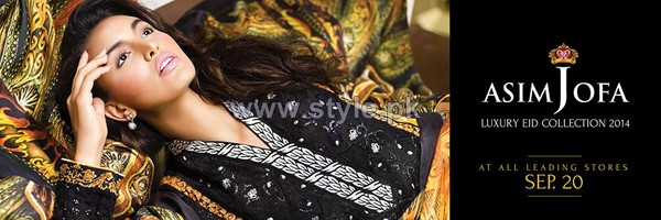 Asim Jofa Luxury Eid Collection 2014 For Women 5